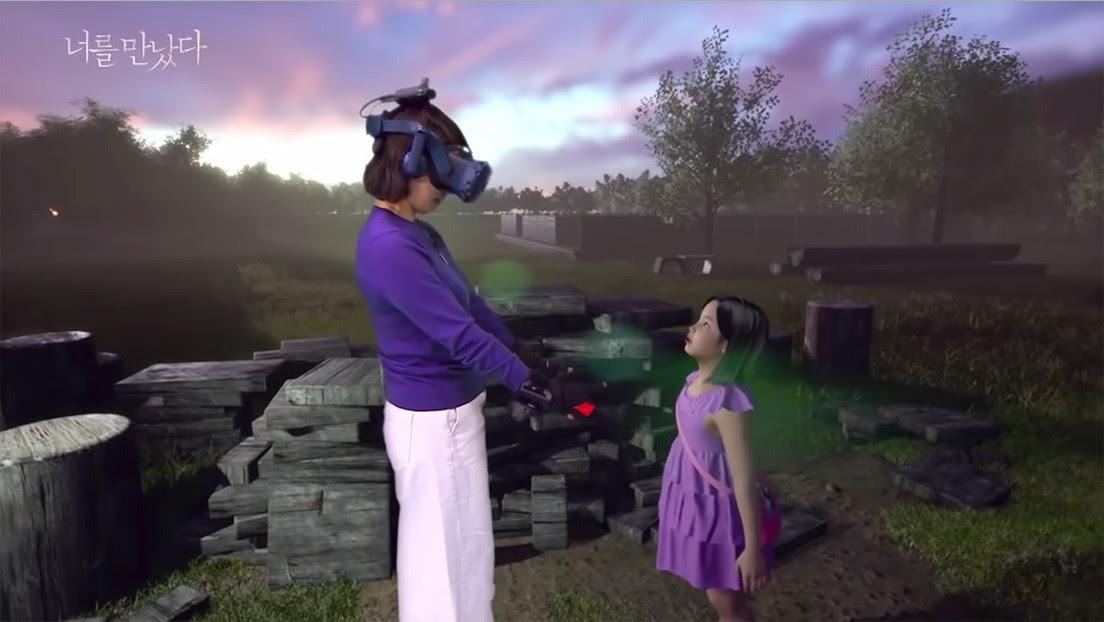 ¿Consuelo o trauma?: La realidad virtual 'resucita' a una niña de 7 años para que su madre pueda reencontrarse con ella (VIDEO)