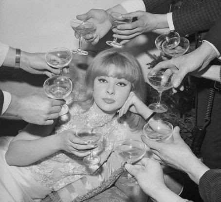 Image result for 60s couple champagne