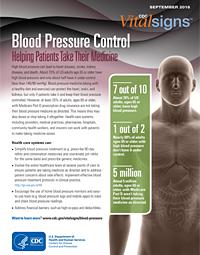 Blood Pressure Control Factsheet