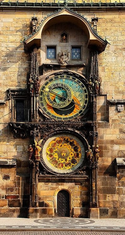 Astronomical Clock, Prague, Czech                                                           Republic**.