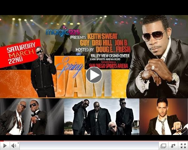 Magic 92.5 presents Spring Jam w/ Keith Sweat, GUY, Dru Hill, Jon B & Doug E. Fresh