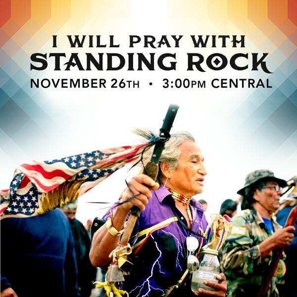 Standing Rock :: Global Synchronized Prayer B270cec1dc134cceb98f25795c1da365