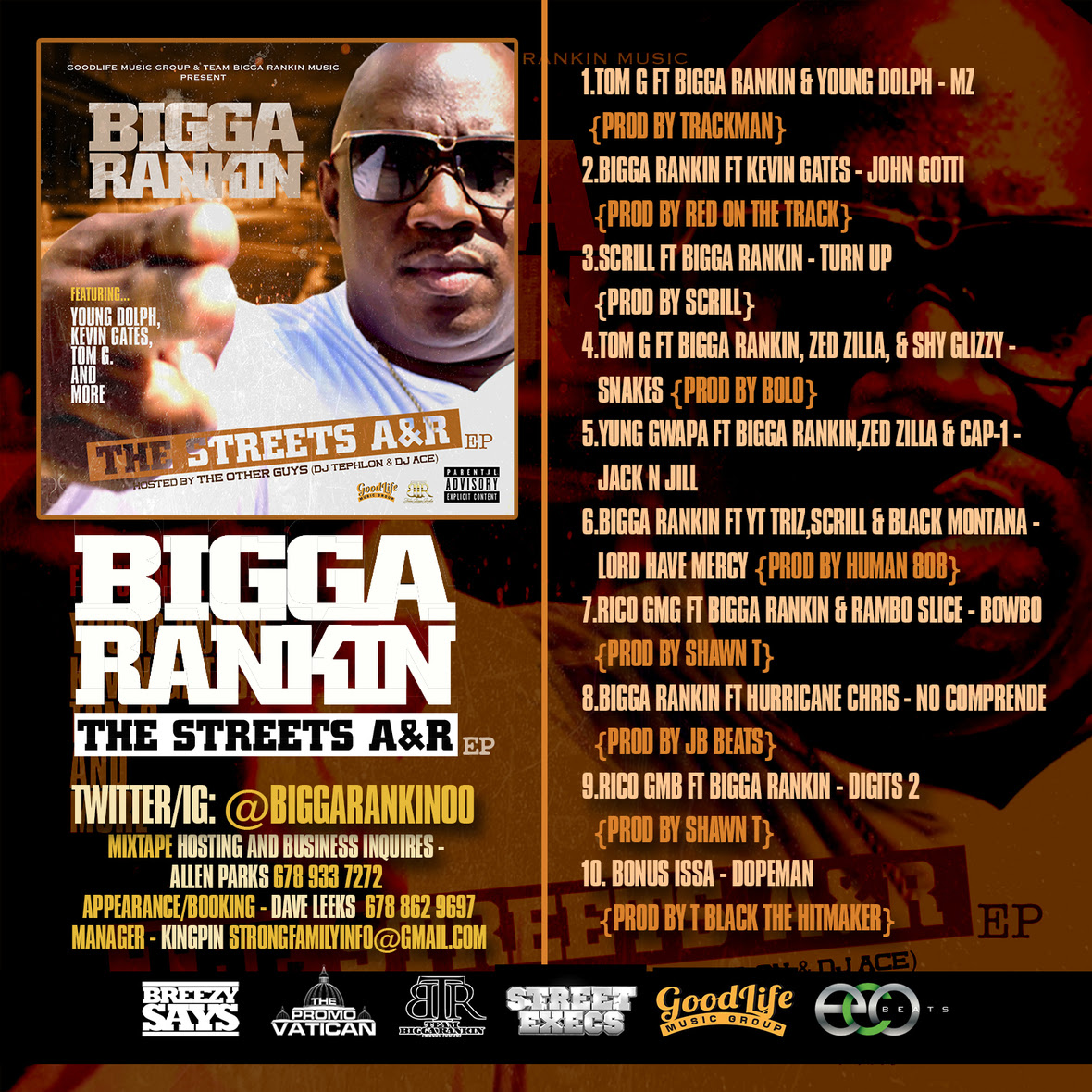Bigga Rankin -  Streets Anr Back