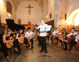 Les concerts de musique classique aux Orres