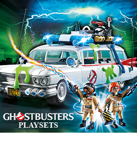 GHOSTBUSTERS PLAYMOBIL PLAYSETS