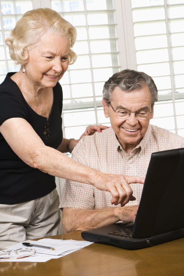 copyright free seniors computers