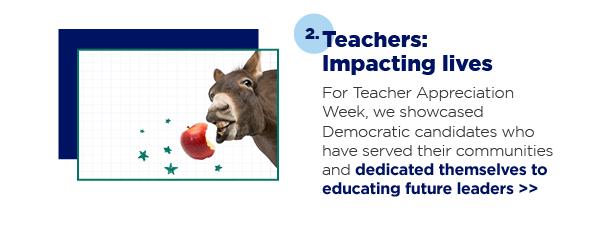 2. Teachers: Impacting lives