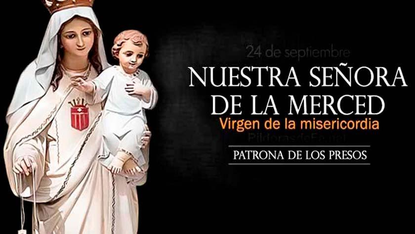 nuestra senora de la merced virgen de la misericordia fiesta de maria