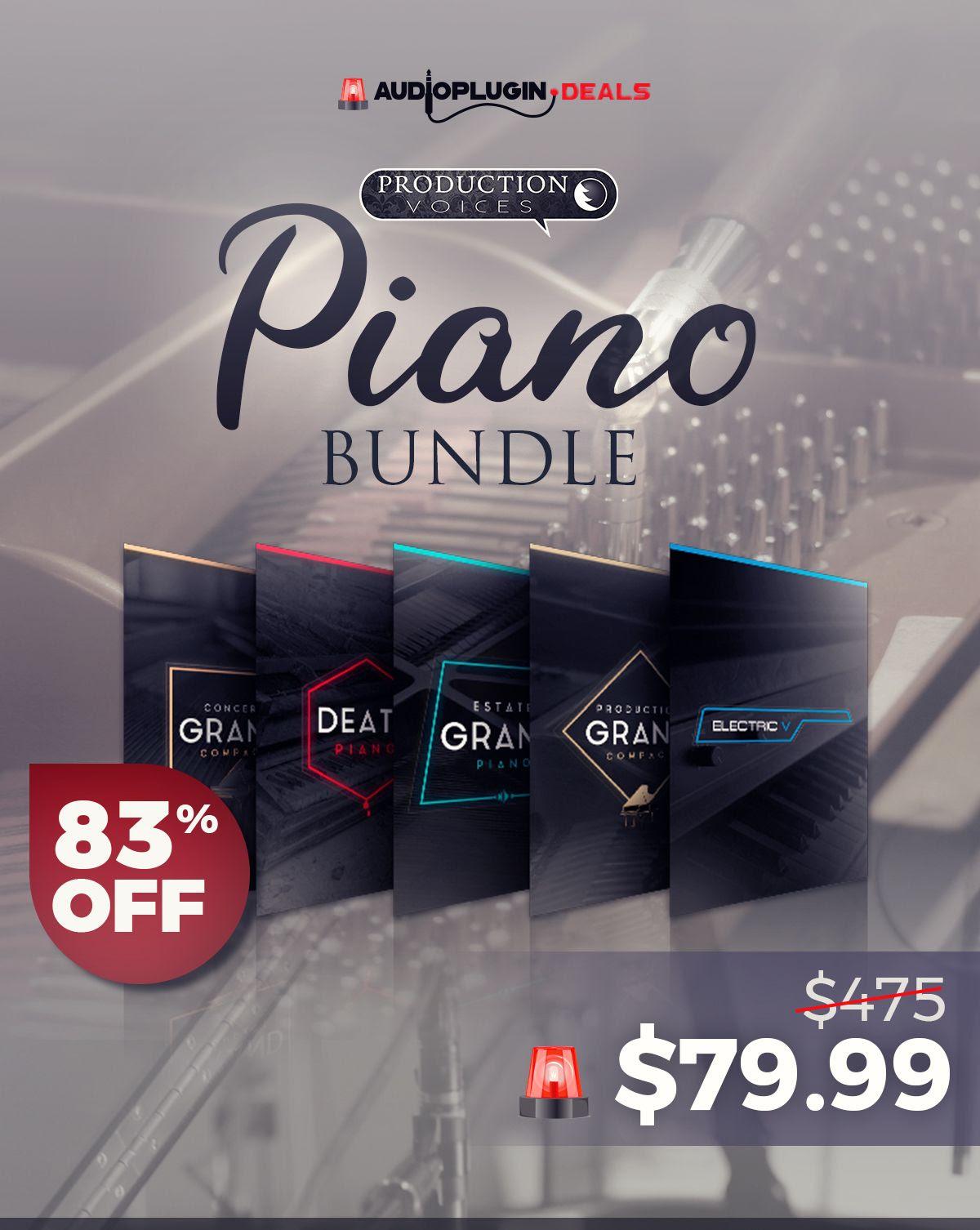 83% Off Production Voices SFZ Piano Bundle