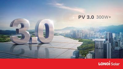 Grande era FV 3.0, com módulos solares de potência superior a 300 W
