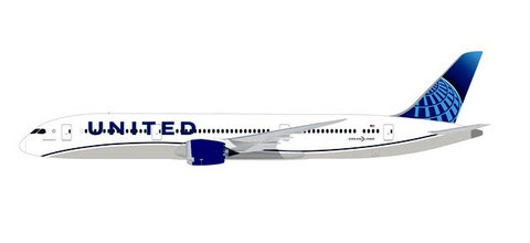 Herpa Snap-Fit (Wooster) 1:200 | Boeing 787-9 United Airlines | is due: January / February 2020