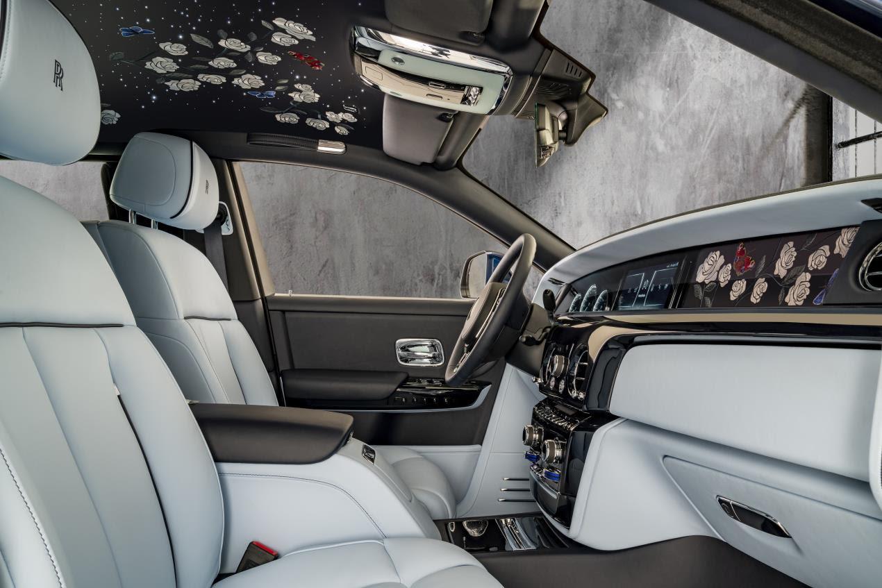 Rolls Royce Rose Phantom__Interior_Front_DoofrOpen_Base_Image courtesy Rolls-Royce Motor Cars