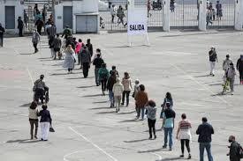 Normalidad y alta participación marcan las primeras horas del Plebiscito de  Chile - Infobae