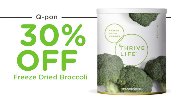 Q-pon: Broccoli 30% Off