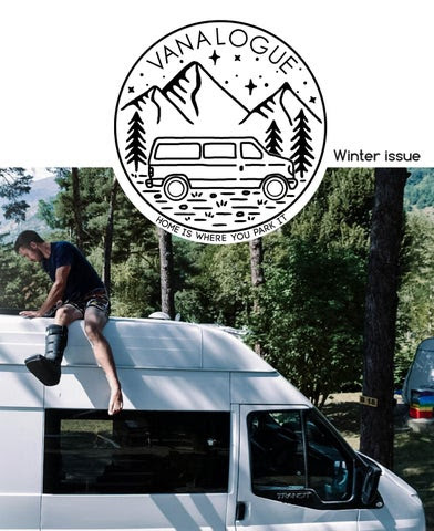 Vanalogue Winter Issue cover