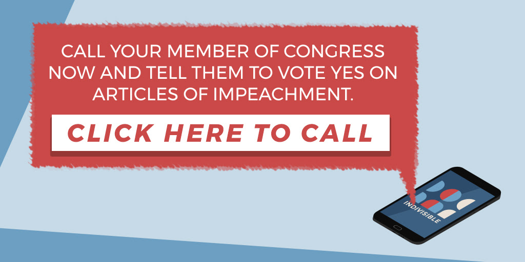 alt text: call your member of congress graphic