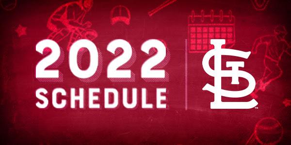 2022 Regular Season Schedule