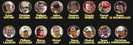 16 Champions du Monde