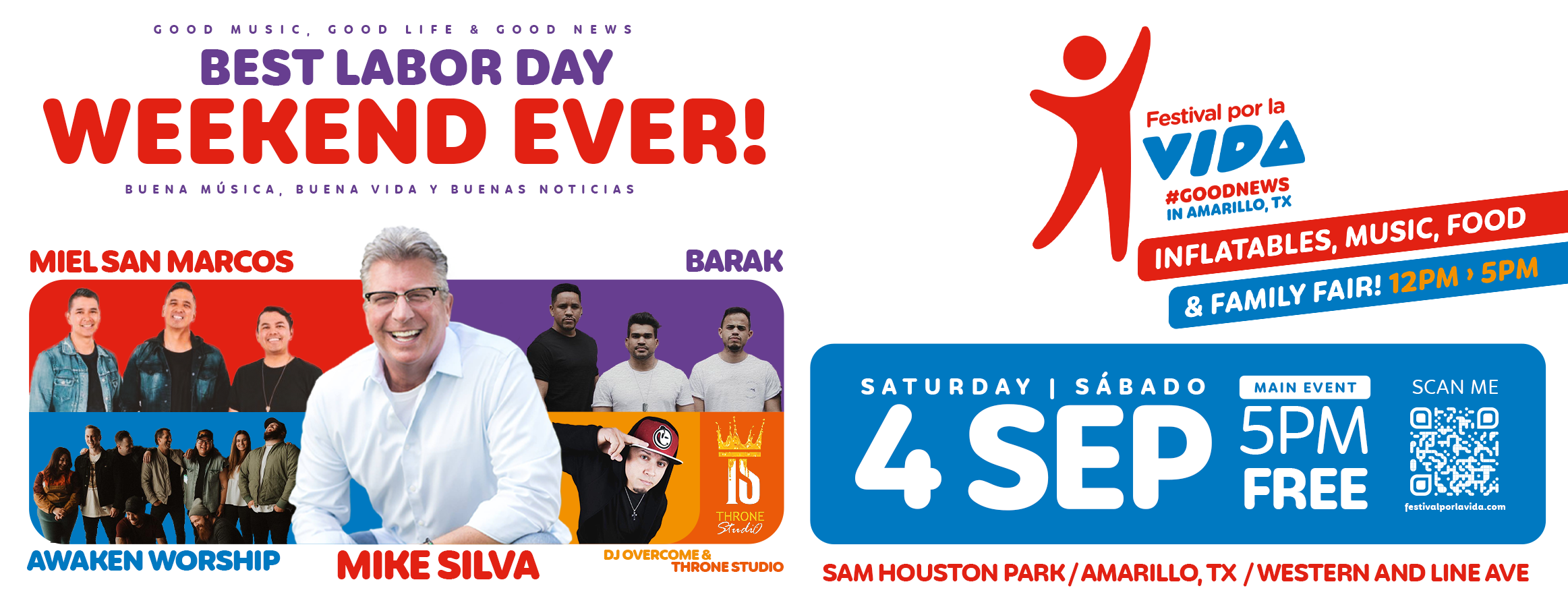 Save The Date! Festival Por La Vida