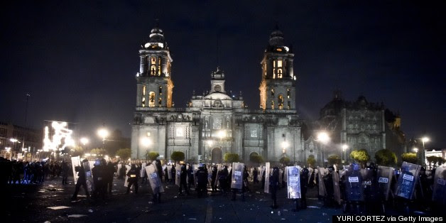 On The Blog: Mexico Is Burning