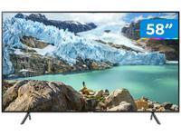 "Smart TV 4K LED 58"" Samsung UN58RU7100"