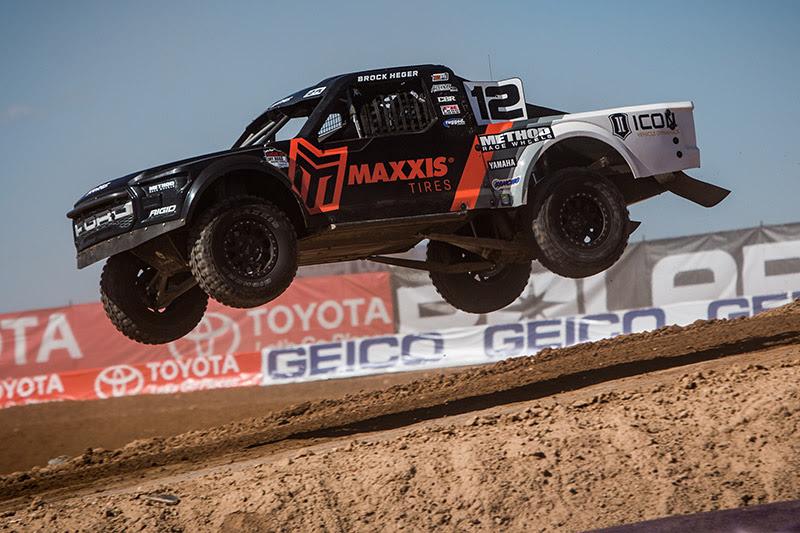 Brock Heger, Maxxis Tires, Method Race Wheels, Icon Suspension, Bink Designs