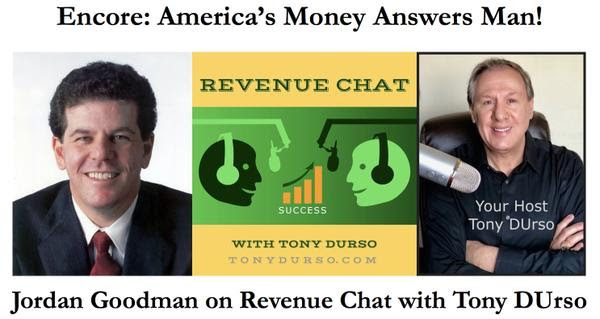 Jordan Goodman on Revenue Chat Radio with Tony DUrso