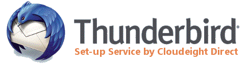 Our new Cloudeight Direct Thunderbird Email Set-up Service