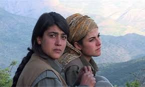 Αποτέλεσμα εικόνας για πολεμιστριες του κουρδισταν φωτο
