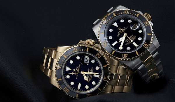Submariner Yellow Gold Steel Watches