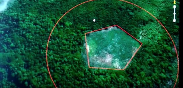 Duplicate Pentagon Appears in Brazil Rain Forest!  What is Going On?
