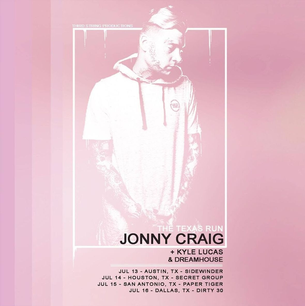 dreamhouse jonn craig tour flyer