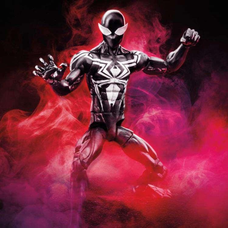 Image of Amazing Spider-Man Marvel Legends Wave 11 (Kingpin BAF) - Symbiote Spider-Man