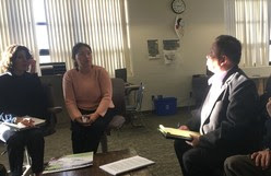 Hmong and Lao veterans from Vietnam War Discuss Indefinite Detention Deportation with Director Rivero Dec. 2018