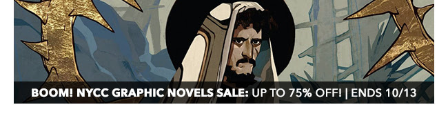 BOOM! NYCC Graphic Novels Sale: up to 75% off! | Ends 10/13