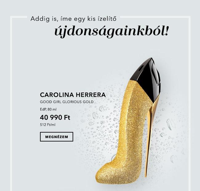 GLAMOUR-napok 2019 - Carolina Herrera Good Girl Glorious Gold