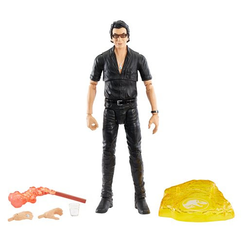 Image of Jurassic World Dr. Ian Malcolm Amber Collection Action Figure