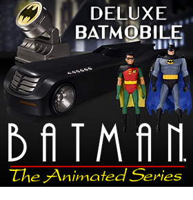 BATMAN THE ANIMATED SERIES 24 INCH DELUXE BATMOBILE