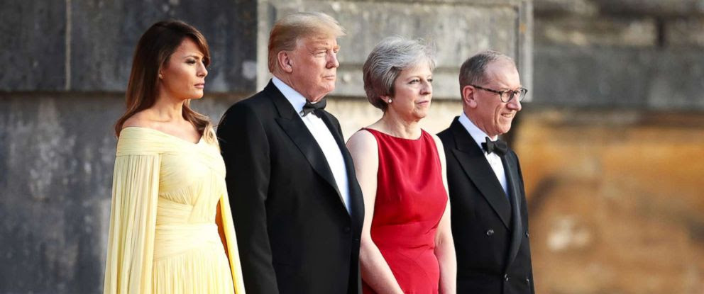 Why Trump Walked in Front of Lizard Queen on Purpose! True Agenda of Trump's England Visit Exposed!