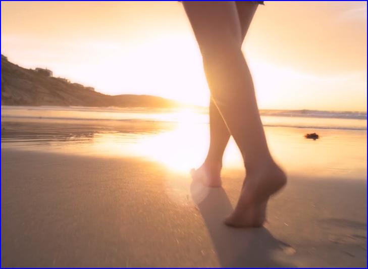 Barefoot-on-Beach