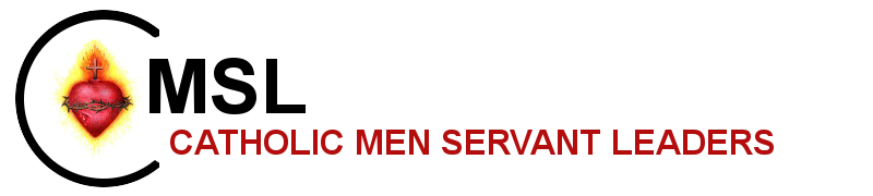 Catholic Men Servant Leaders logo