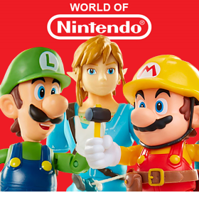 WORLD OF NINTENDO FIGURES