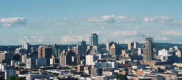 Skyline of Harare, Capital of Zimbabwe