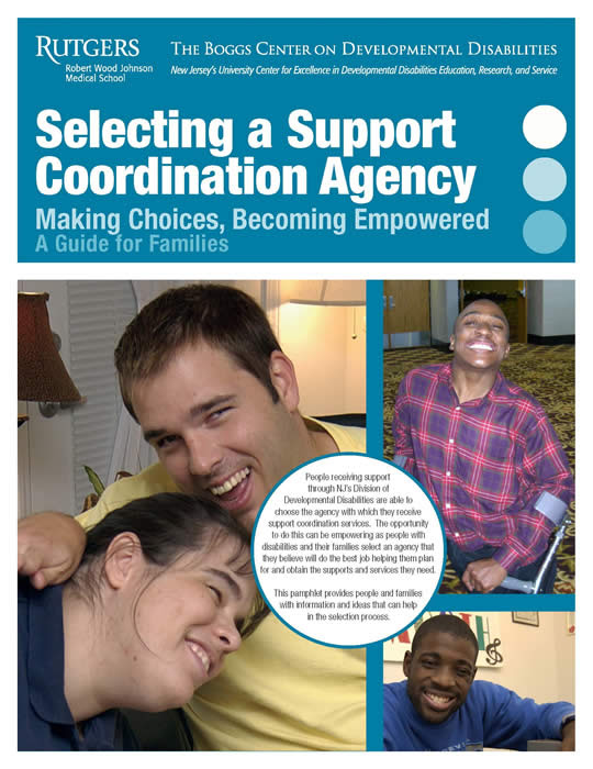 Selecting a Support Coordination Agency cover