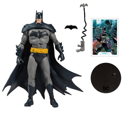 "Image of DC Batman Superman Wave 1 - Modern Batman 7"" Action Figure"