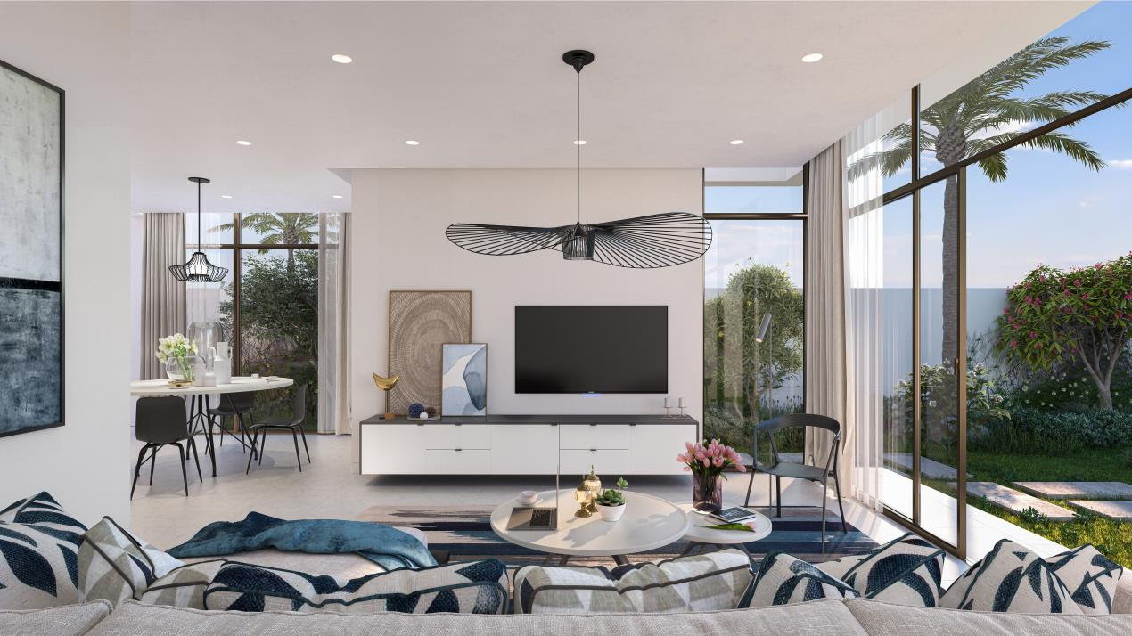 Townhouse Type TH4-Living Room