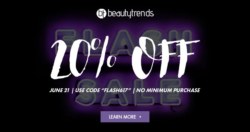 Get 20% OFF! Today only during this Flash Sale! Click here to learn more.