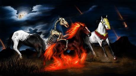 Four Horsemen Of The Apocalypse - Public Domain