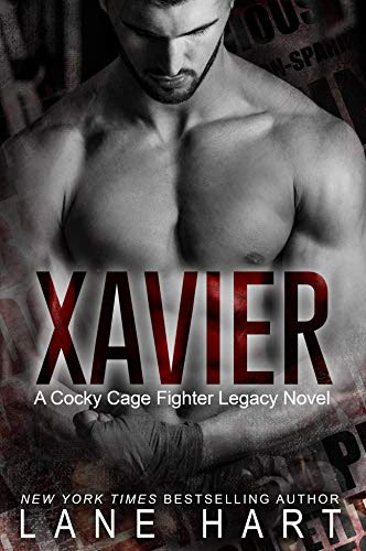 Cover for 'Xavier (A Cocky Cage Fighter Legacy Novel Book 1)'