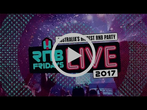 RNB Fridays Live 2017 (line-up announcement)